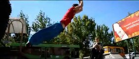 parkour free running - freestyle walking - extreme jump team [extreme sports 2015]