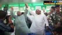 Nitish Kumar & Lalu Yadav Hug Each Other   Bihars Winning Combo   Bihar Election Result 2015