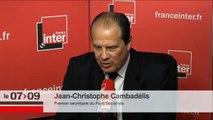 Jean Christophe Cambadélis : Référendum du PS, Union de la gauche, Nicolas Sarkozy, Front