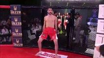 Un combattant MMA chambre son adversaire et fini KO en 9sec : la honte