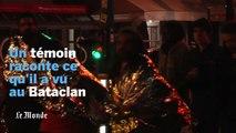 Attaque du Bataclan : « Le terroriste était assez calme », témoigne un rescapé