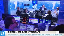 """Attentats à Paris : """"L'islam et les musulmans sont innocents de cela !"""""""