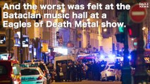 Nearly 90 people killed at Paris concert hall after hostages taken at rock concert