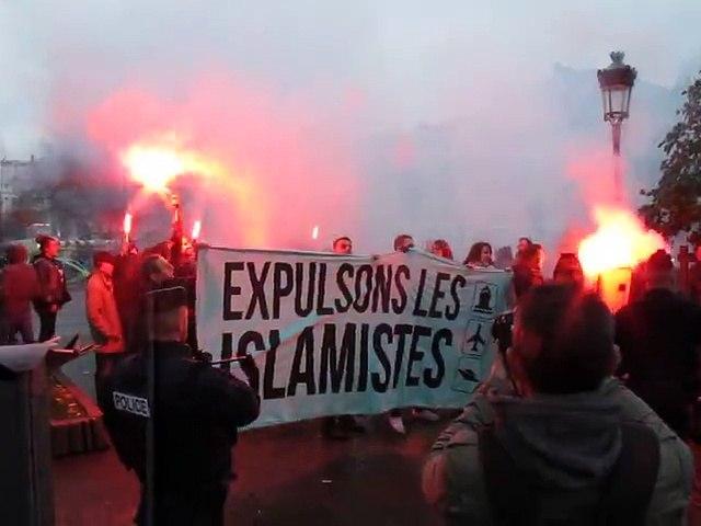 Lille : irruption d'un groupe d'identitaires au rassemblement place de la République