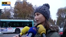 """Attentats de Paris: """"Une dame est morte dans mes bras"""""""