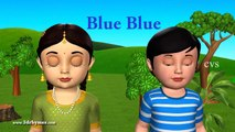 KZKCARTOON TV-Learn Colors song - 3d animation - Nursery Rhymes - Kids Rhymes - 3d Rhymes - for Children