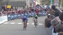 Coupe de France de cyclo-cross 2015 : L'arrivée des Juniors à Quelneuc