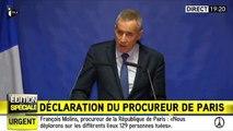 """Attaques à Paris : un des terroristes """"formellement identifié"""""""