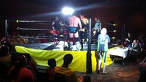 """Jerry """"The King"""" Lawler & """"Superstar"""" Bill Dundee vs. Pure Destruction (Cody & Brody Hawk) - Championship Wrestling"""