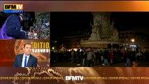 Attentats de Paris: en signe de deuil, la Tour Eiffel ne brille plus