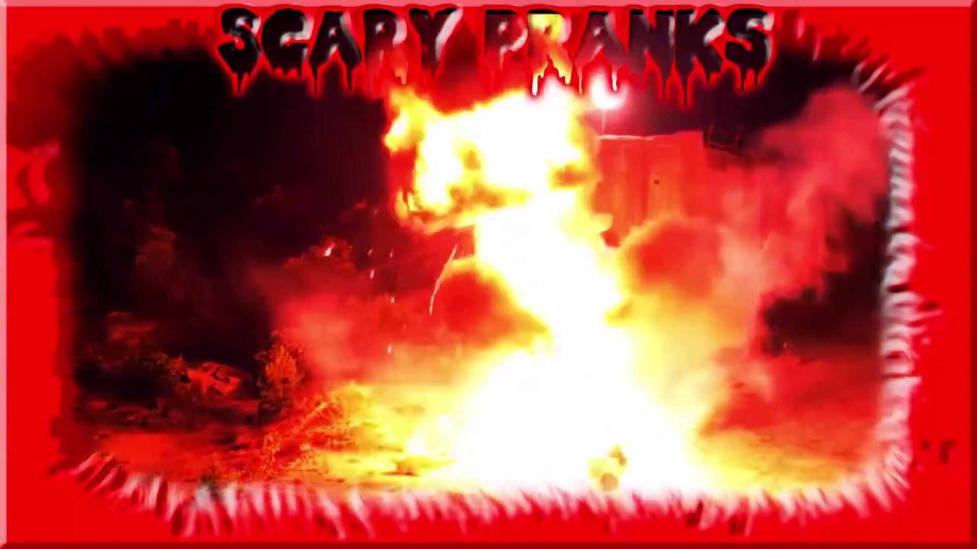 Scary Pranks - Funny Scare Pranks - Top Scary Pranks #5