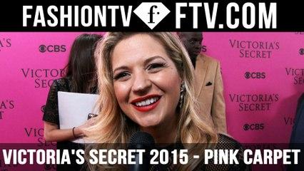 HOT NEWS! Fresh From The Victoria's Secret 2015 Pink Carpet ft. Vanessa Ray & Tyson Beckford | FTV.com