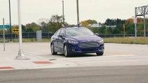Ford teste ses voitures sans pilotes dans une fausse ville dans le Michigan