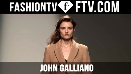 Hairstyle at John Galliano Spring 2016 Paris Fashion Week | FTV.com