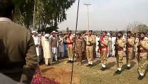 Guard Of Honour To Late Malik Zahoor In Chak Baqar Shah Chakwal May his Soul Rest In Peace (Ameen)