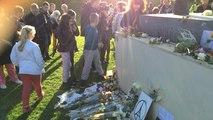 Rassemblement au Mémorial