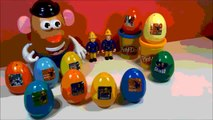10 Surprise Eggs Fireman sam Mr Potato Toy story TOYS яйцо 惊喜蛋,驚喜蛋 oeufs surprise pour enfants изненада яйца, 惊喜蛋,驚喜蛋, sorpresa ous, huevos sorpresas, आश्चर्य के अंडे فاجأة البي, Play Doh: プラスティシ, пластилин, пластилін, Plastiline, مادة لدائنية, 橡皮泥, 橡皮泥.
