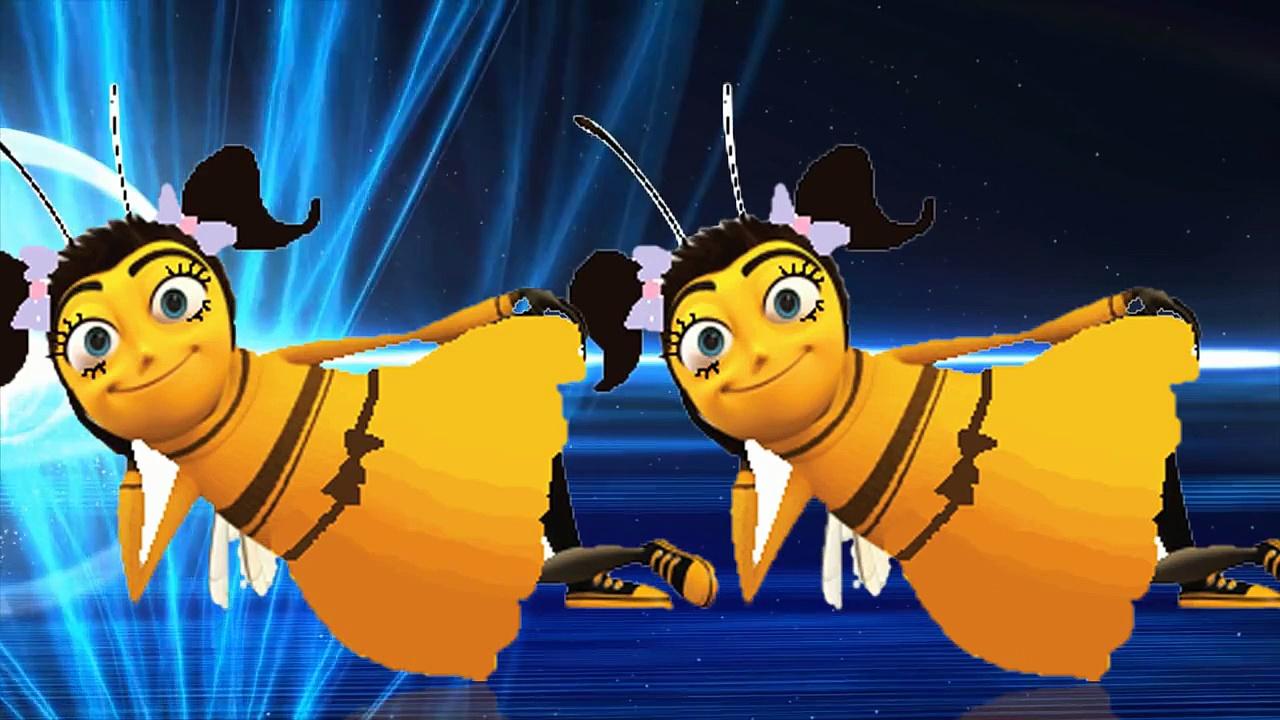Honey Bee Cartoon Finger Family Children Nursery Rhymes _ Honey Bee Finger Family Nursery Rhymes
