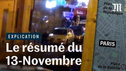 Attentats du 13 novembre 2015 : le résumé minute par minute en vidéo