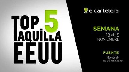 Top 5 Taquilla USA Semana 13- 15 noviembre