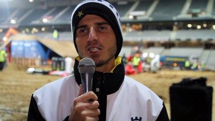 interview Christophe Pourcel, SX de Paris-Lille, Dimanche © Motoverte.com 2015