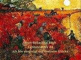 Bach Cantate BWV 84 Ich bin vergnügt mit meinem Glücke