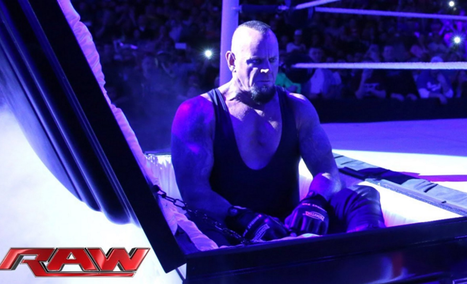 WWE RAW | The Undertaker rises from a coffin to attack Brock Lesnar | Full Video Match