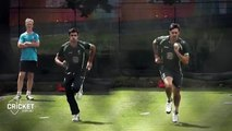 Mitchell Johnson & Mitchell Starc bowling action slow motion -