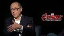 James Spader & Paul Bettany Interview Avengers: Age of Ultron (2015)