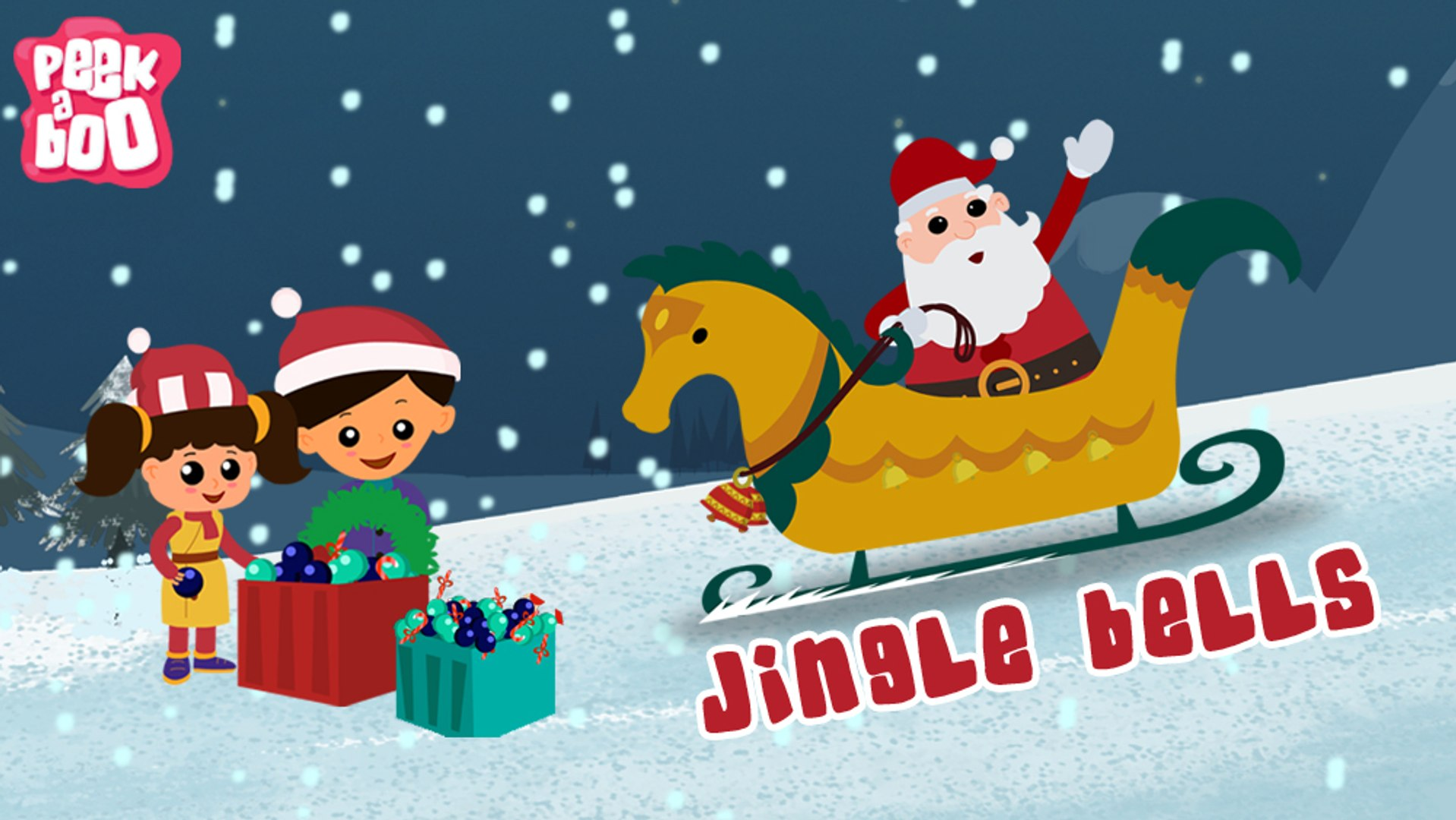 Jingle Bells Song For Children With Lyrics Popular Christmas Songs For Kids Video Dailymotion