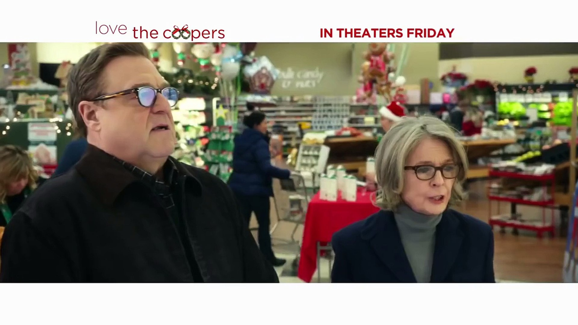 Love the Coopers TV Spot Theres No Place Like Home (2015) John Goodman, Ed Helms Comedy H