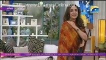 Nadia Khan Show - 16th Nov 2015 Part 1 - Meera attacked  on producer of Nadia Khan Show