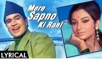 Mere Sapno Ki Raani - Kishore Kumar Hindi Full Karaoke with Lyrics