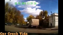 Cars VS Trucks - Truck And Car Crashes - Stupid Russian Drivers - Huge Car Accidents!