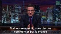 Après les attentats de Paris, John Oliver répond avec humour