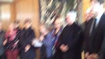 Minute de silence en mairie de Flers