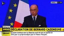 Bernard Cazeneuve annonce 23 interpellations et 31 armes saisies