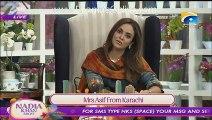 Nadia Khan Show - 16th Nov 2015 - Part 5 - Meera attacked  on producer of Nadia Khan Show