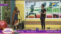 Nadia Khan Show - 16th Nov 2015 - Part 6 - Meera attacked  on producer of Nadia Khan Show