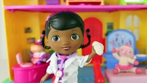 Doc McStuffins ❤ Doc Is In Clinic Hallie Lambie Disney Junior Doc McStuffins Toy House