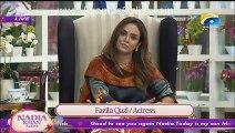 Nadia Khan Show-16th nov 2015-Meera attacked  on producer of Nadia Khan Show