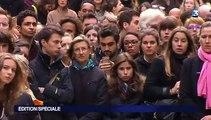 Attentats à Paris : une minute de silence en hommage aux victimes partout en France