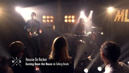 "[SESSIONS] Housse de Racket reprend ""Burning down the House"" de Talking Heads"