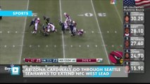 Arizona Cardinals go through Seattle Seahawks to extend NFC West lead