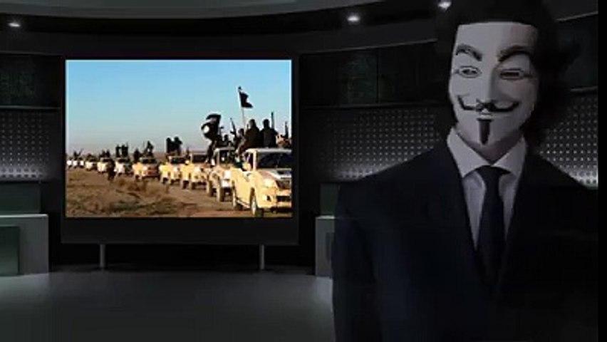 Les premières Victoires d'Anonymous contre Daesh
