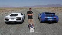 Bugatti Veyron vs Lamborghini Aventador vs Lexus LFA vs McLaren MP4-12C - Head 2 Head Episode 8_11