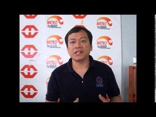 Atty Hernando Cabrera of LRTA for LRT 2 Masinag Extension