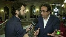 """Oriol Junqueras- """"Mas y yo no somos compañeros de cama, somos compañeros de escaños"""""""