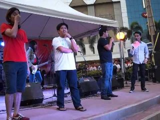 Join The Club Singing Contest at the Freedom Rocks at Araneta Center