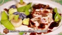 Le plat de Paul : lapin aux dattes, légumes croquants et jus réduit de lapin